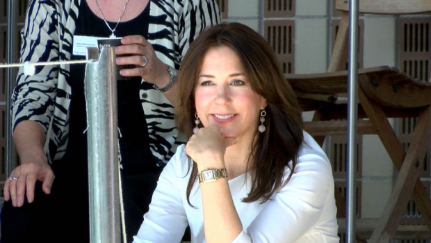 Princess Mary As patron of the Danish Swimming Federation