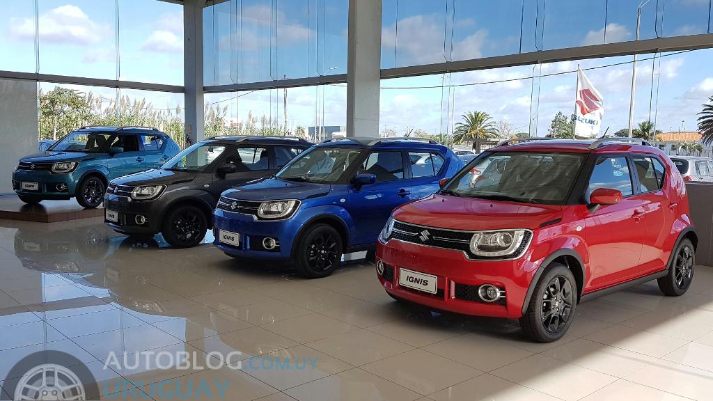 Suzuki Ignis Precio Uruguay