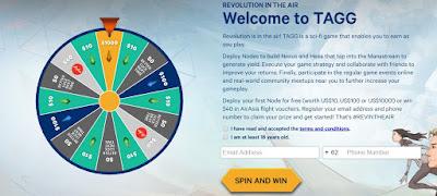 Main Playtagg dapatkan Gratis $10-$1000(Node) Beserta Profit mingguan 26