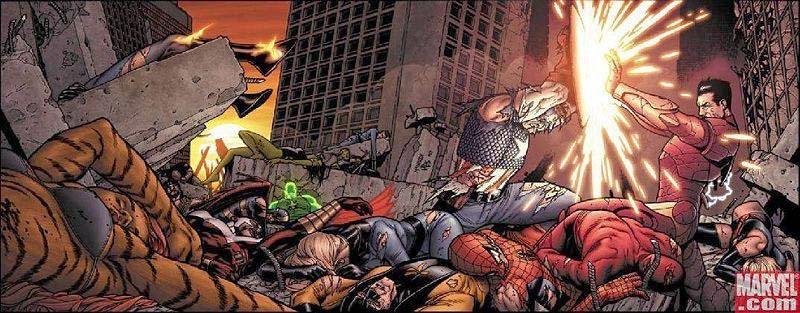 cw si 1 - Marvel: Guerra Civil - Stuart Moore