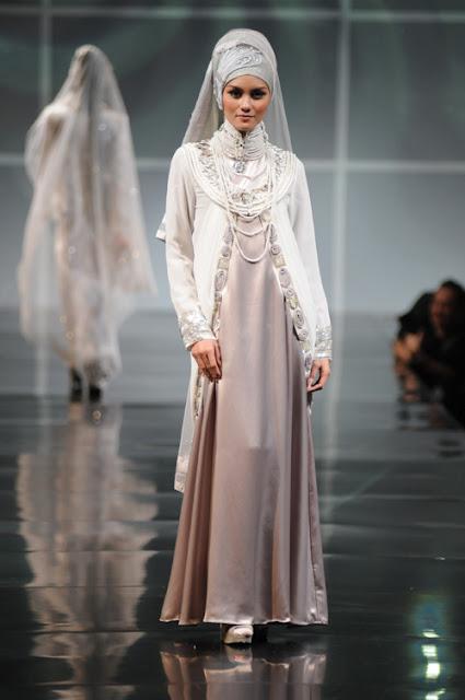 Model Gaun Pengantin Muslimah Simple Tapi Elegan