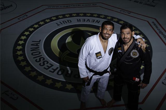 Minotouro e Minotauro na Team Nogueira