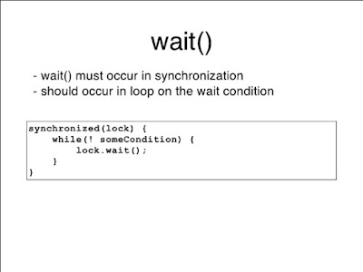How to use wait and notify method in Java with example