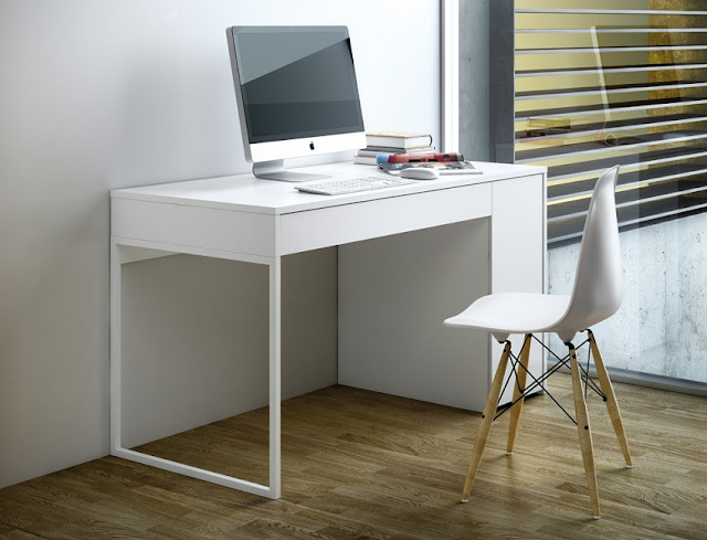 best buy modern white home office furniture US for sale