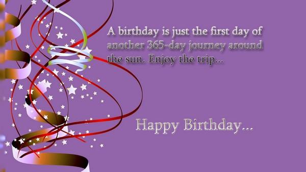 Happy Birthday Message Photo