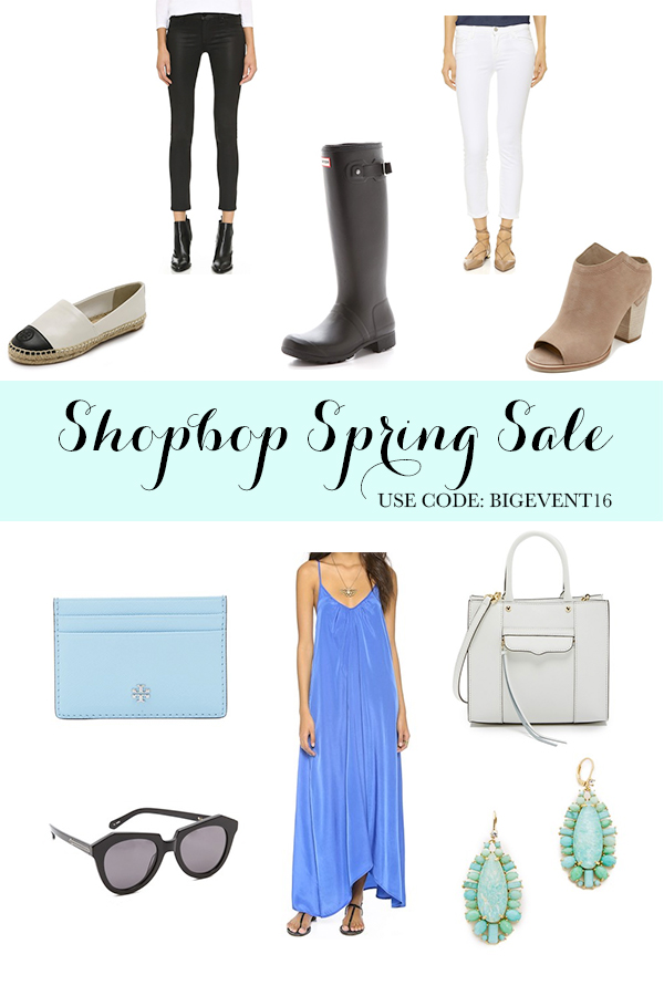 Shopbop Spring Sale favorite items.