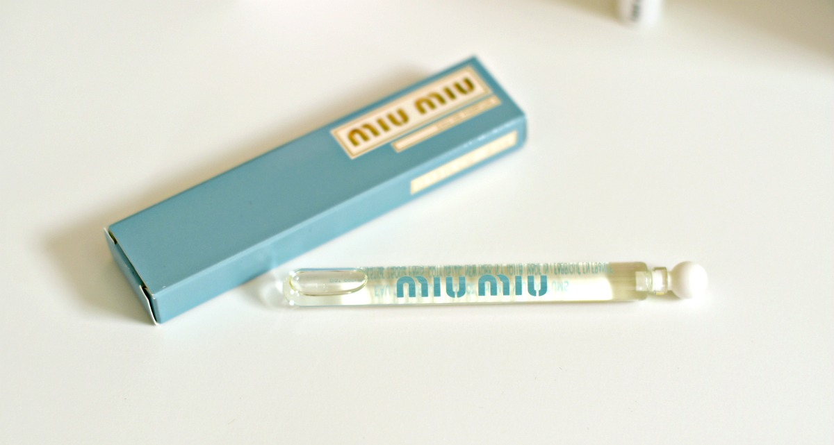 Miu Miu perfume on Ninasstyleblog