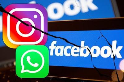 Facebook,Instagram,Whatsapp Sempat Down Dibeberapa Negara