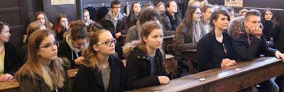 Des lycéens attentifs