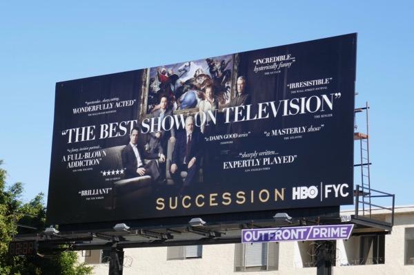 Succession season 1 consideration billboard