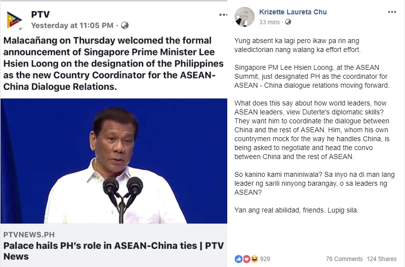 Netizens Lauded Pres  Duterte's Achievements After Being