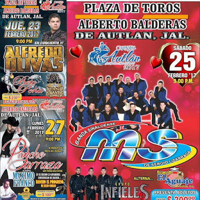 bailes carnaval autlan 2017