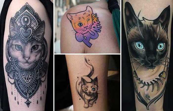 kedi dövmeleri cat tattoos