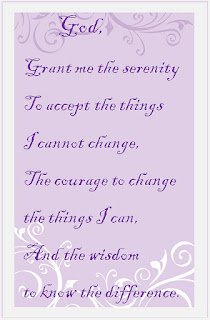 Text of the Serenity Prayer