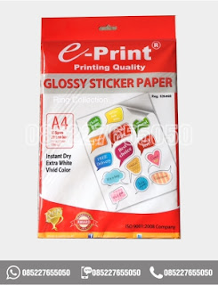 Kertas Stiker Kertas Sticker Glossy Photo Paper A4 Eprint 135gsm, eprint, 0852-2765-5050