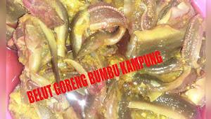 BELUT GORENG BUMBU KAMPUNG