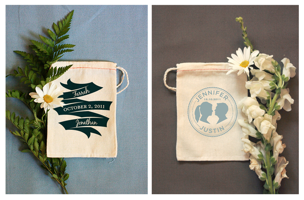 Custom Printed Muslin Bags By Benign Objects