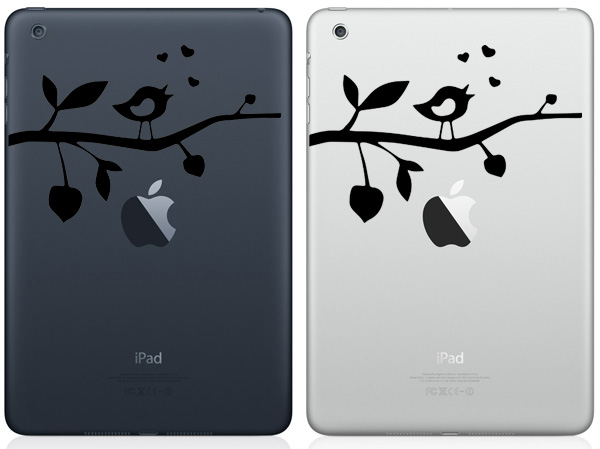 Lovebird iPad Mini Decals