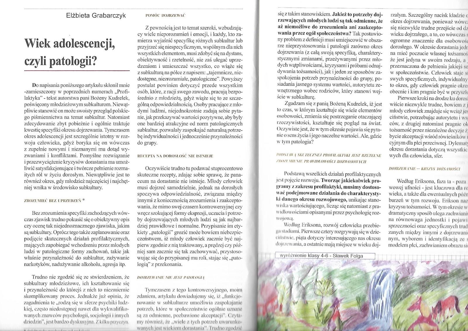 Dobry psycholog Warszawa o problemach nastolatków