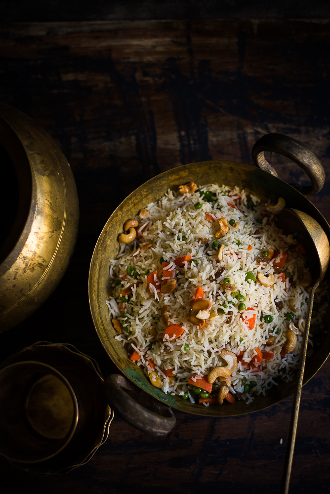 Mix and Stir: Bengali Style Fried Rice ( Ghee Bhat )