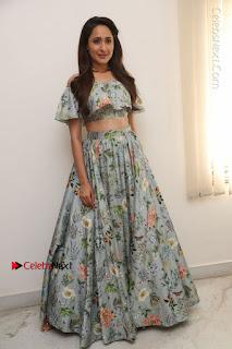 Actress Pragya Jaiswal Stills in Floral Dress at turodu Interview  0182.JPG