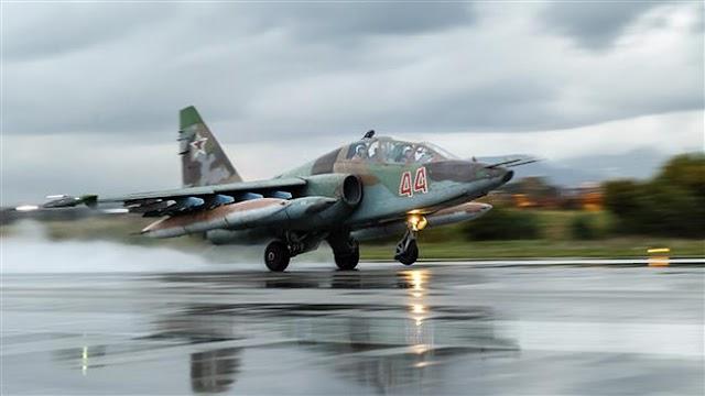 Russia withdraws S-24s, deploys S-25 jets to Syria's Latakia