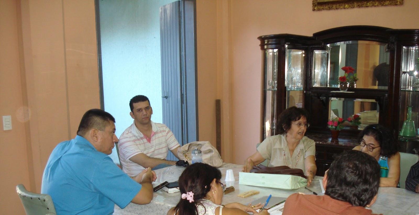 Academia de Letras Juvenal Galeno: Reunião da Academia em