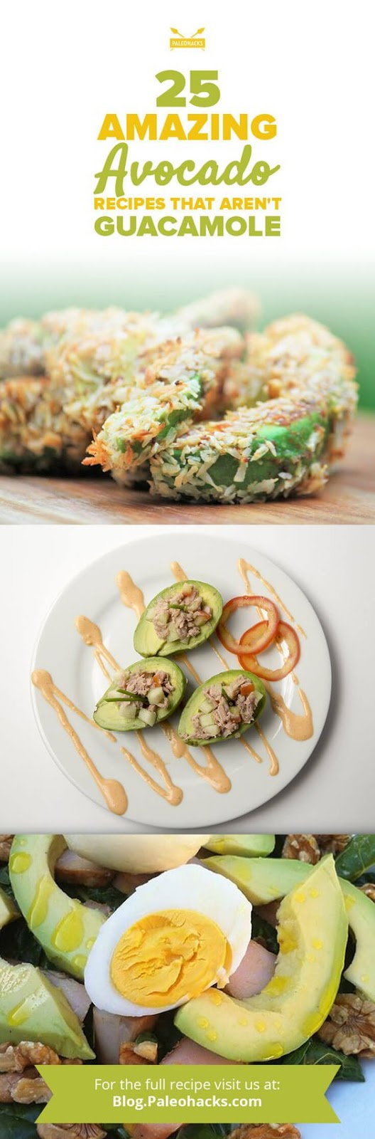 25 Amazing Avocado Recipes That Aren't Guacamole