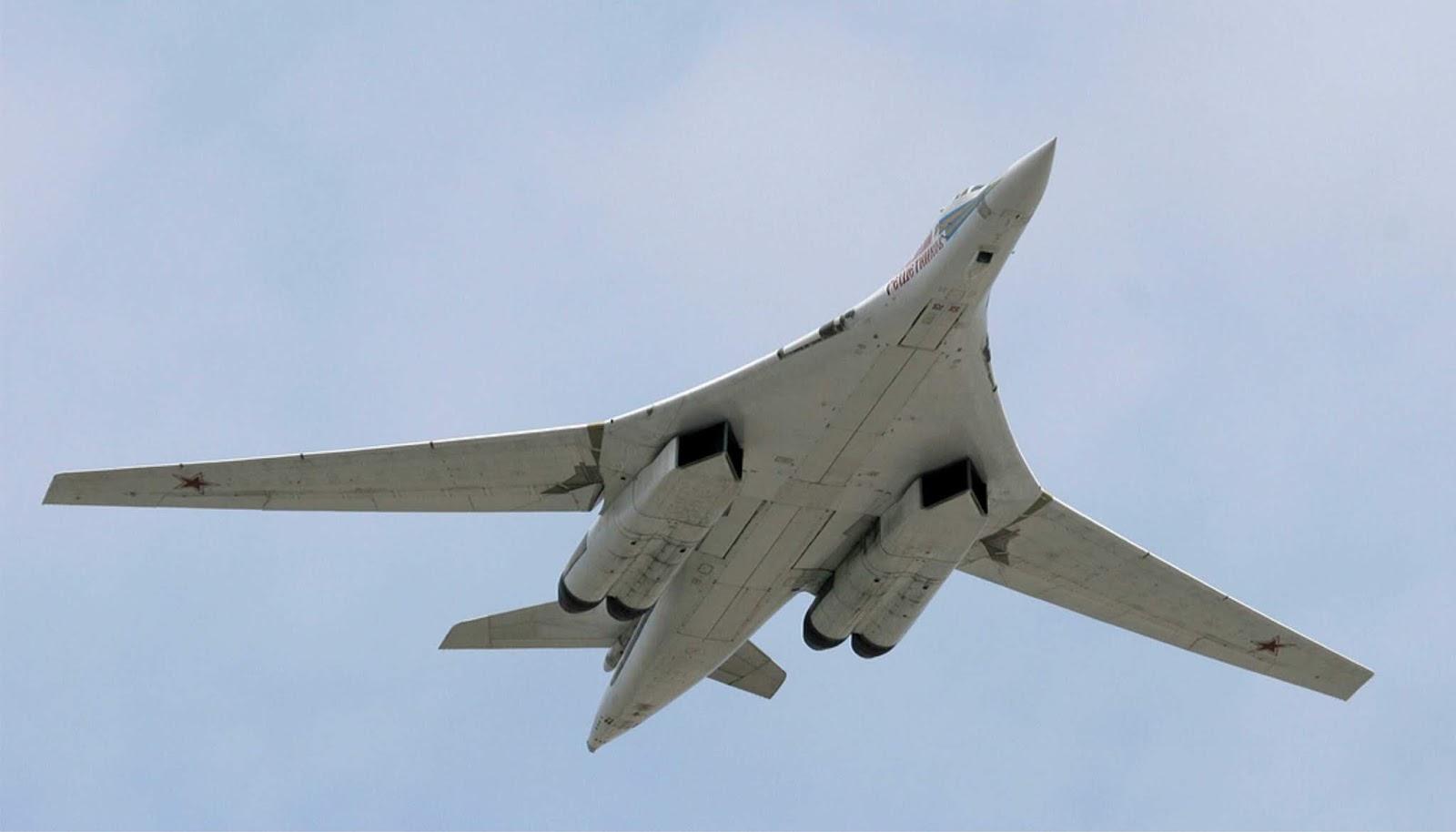 Tu-160 Rusia menghabiskan sepuluh jam di atas Laut Karibia