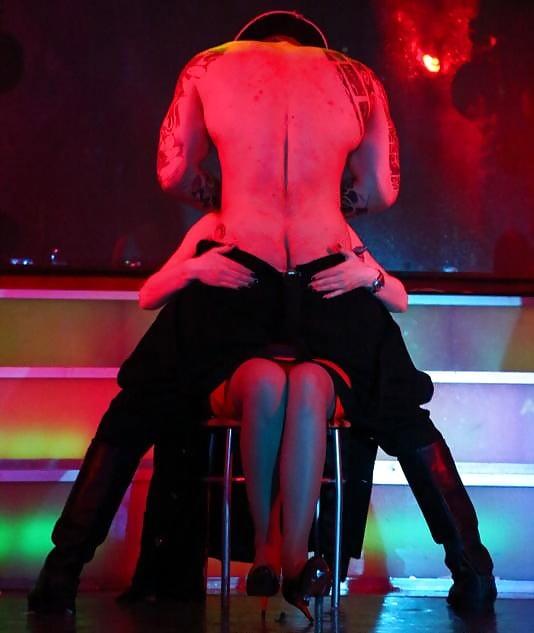 Interactive sex lap dance