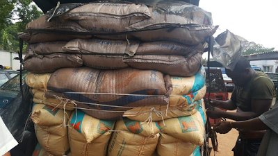 Nigerian Custom banned imported rice
