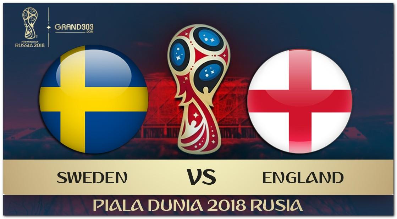 Pasaran Puran Inggris vs Swedia Piala Dunia 2018