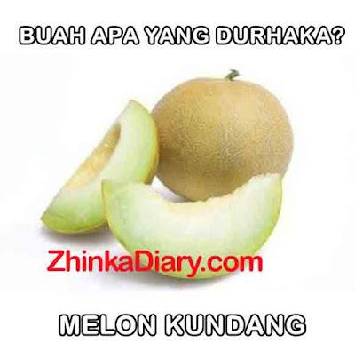 Tebak-tebakan buah melon