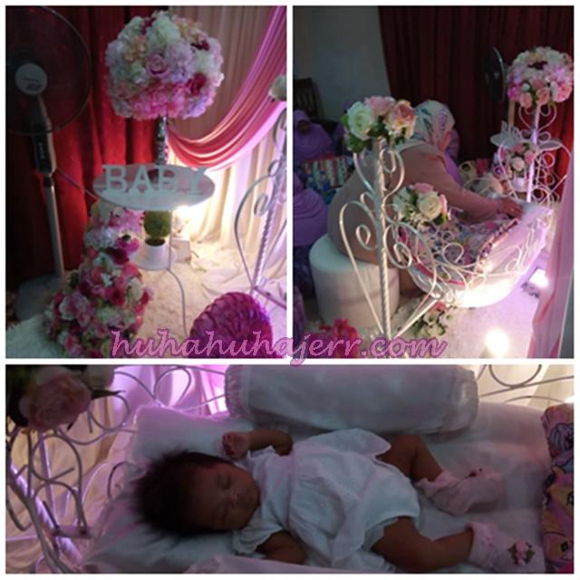 Kemeriahan Majlis Aqiqah Dan Berendoi Baby Rania