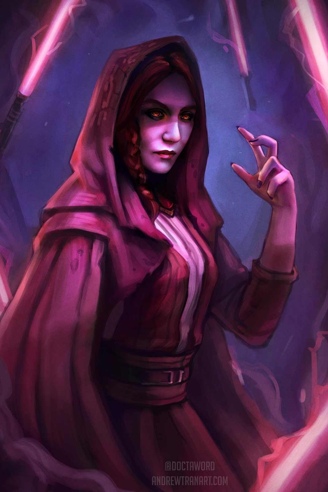 05-Melisandre-Carice-van-Houten-Andrew-D-Tran-Doctaword-Star-Wars-and-Game-of-Thrones-Mashup-www-designstack-co