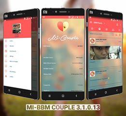 BBM Mod Mi-BBM Couple v3.1.0.13 Apk Terbaru Full Features