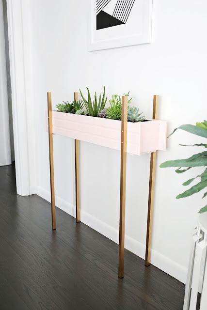 DIY Un precioso macetero para tus plantas de interior