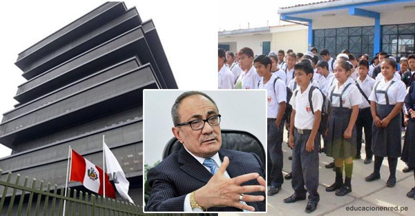No es obligatorio usar uniforme escolar, recuerda el Ministerio de Educación - MINEDU - www.minedu.gob.pe
