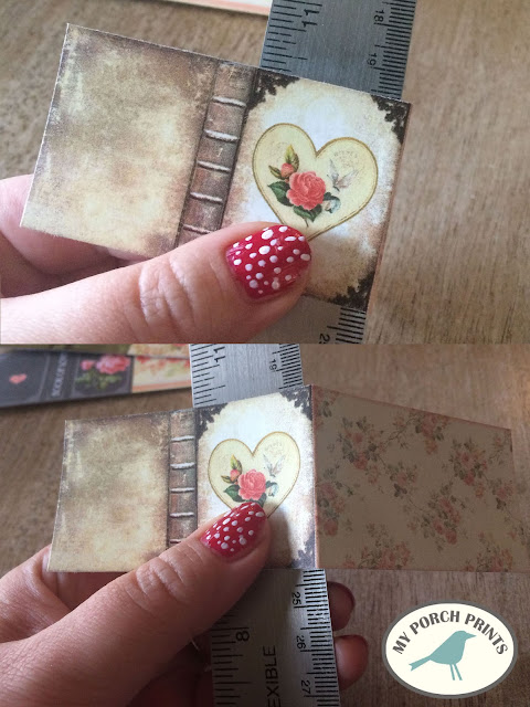 Valentine's Day Mini Book Tutorial