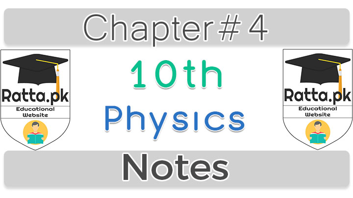 10th Class Physics Chapter 4