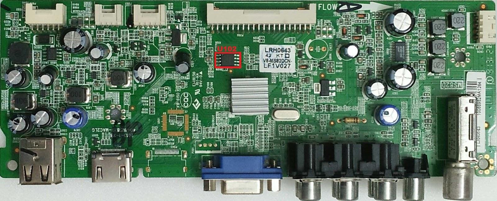 MEMORY DUMP TV: TCL LED32T3500