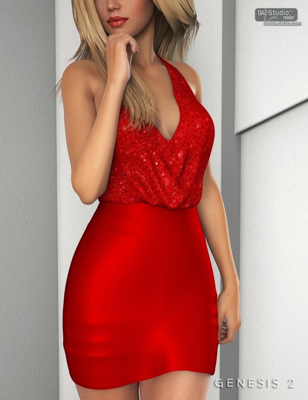 Daz Dress genesis 2