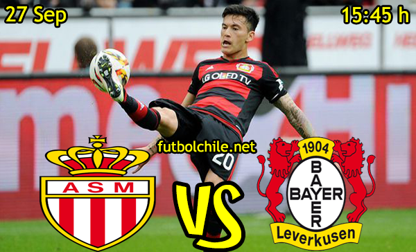 Ver stream hd youtube facebook movil android ios iphone table ipad windows mac linux resultado en vivo, online:  Monaco vs Bayer Leverkusen