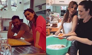 Δέσποινα Βανδή: Έφτιαξε τσουρέκια για το Πάσχα μαζί με τους φίλους της - ΒΙΝΤΕΟ