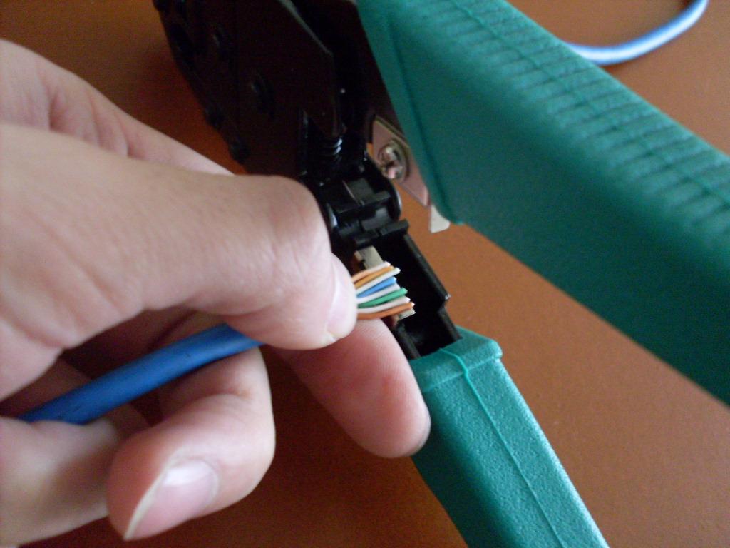 Pasos Para Unir Un Cable Utp Rj45 A Un Conector Macho