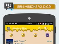 BBM Minions V2.12.0.19 Apk Terbaru