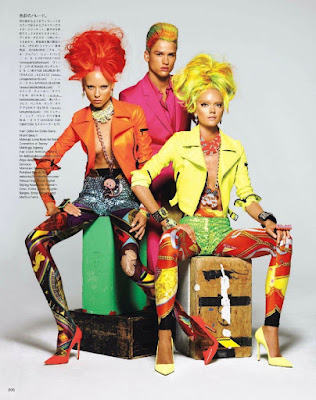 Keeping the Faith - Vogue Japan February 2012