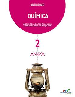 Libro Química 2º Bachillerato Anaya Proyecto Aprender es Crecer