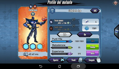 Mutants: Genetic Gladiators Breeding video N°368 (Starscream - Alien)