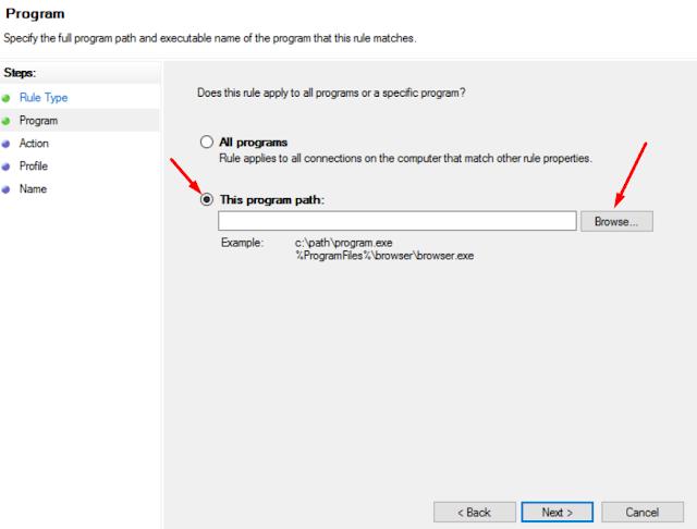 Cara Memblokir Akses Internet Aplikasi Windows 10 Tanpa Aplikasi Pihak Ketiga 9